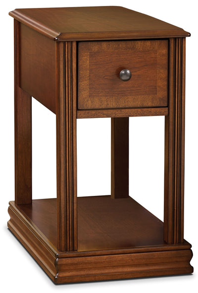 Sydney Accent Table – Cherry - Contemporary style End Table in Cherry Wood