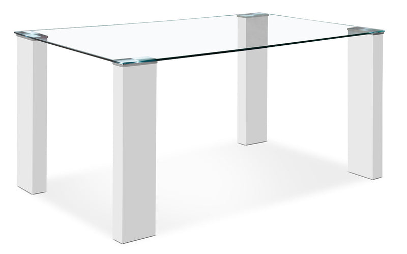 Milton Dining Table – White|Table de salle à manger Milton - blanche