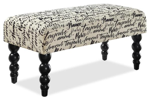 New Orleans Ottoman|Banc New Orleans