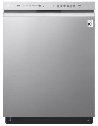 LG 48 dBA Built-In Dishwasher with QuadWash™ – LDF5545ST - Dishwasher in Stainless Steel