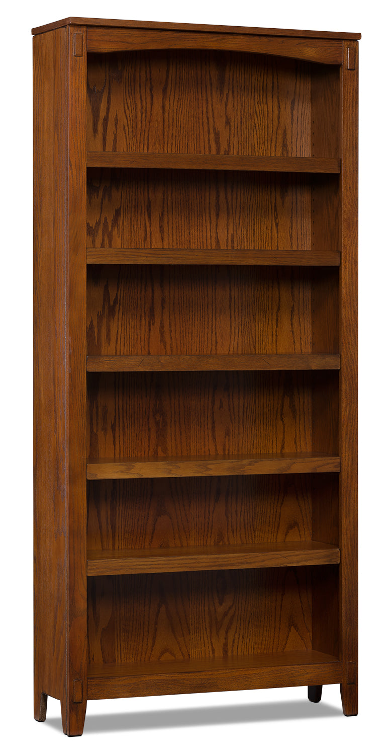 Cross Island 6-Shelf Bookcase|Bibliothèque Cross Island