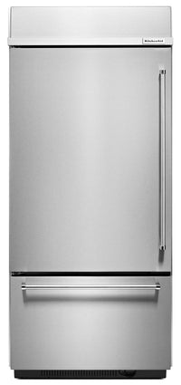 KitchenAid 20.9 Cu. Ft. Built-In Bottom-Mount Refrigerator – KBBL306ESS