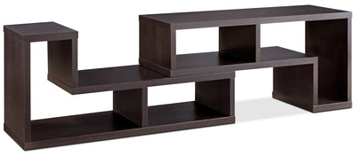 "Vigo 47-94"" TV Stand - Contemporary style TV Stand in Coffee Bean Medium Density Fiberboard"