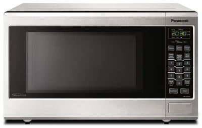 Panasonic 1.2 Cu. Ft. Countertop Microwave – NNST663SC - Countertop Microwave in Stainless Steel