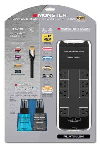 Monster HDMI Cable Package - Monster Platinum Bundle