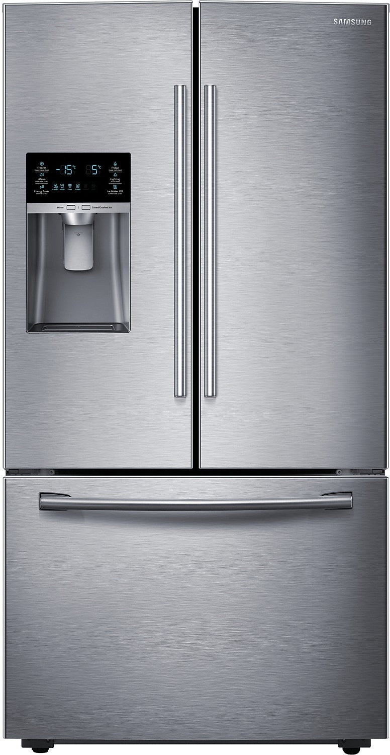 Samsung 23 Cu Ft French Door Counter Depth Refrigerator Stainle