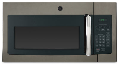 GE 1.6 Cu. Ft. Over-the-Range Microwave – JVM1635SLJC - Over-the-Range Microwave in Slate