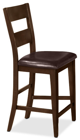 Dakota Pub Height Chair - Country style Dining Chair in Dark Cherry
