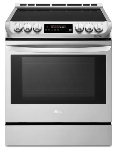 LG 6.3 Cu. Ft. Induction Slide-In Range with ProBake Convection and EasyClean – LSE4616ST - Electric Range in Stainless Steel