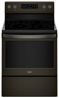 Whirlpool® 5.3 Cu. Ft. Freestanding Electric Range with Fan Convection Cooking|Cuisinière électrique non encastrée, cuisson à convection par ventilateur 5,3 pi3