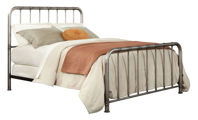 Tristan King Metal Bed|Très grand lit Tristan en métal|8753KBED