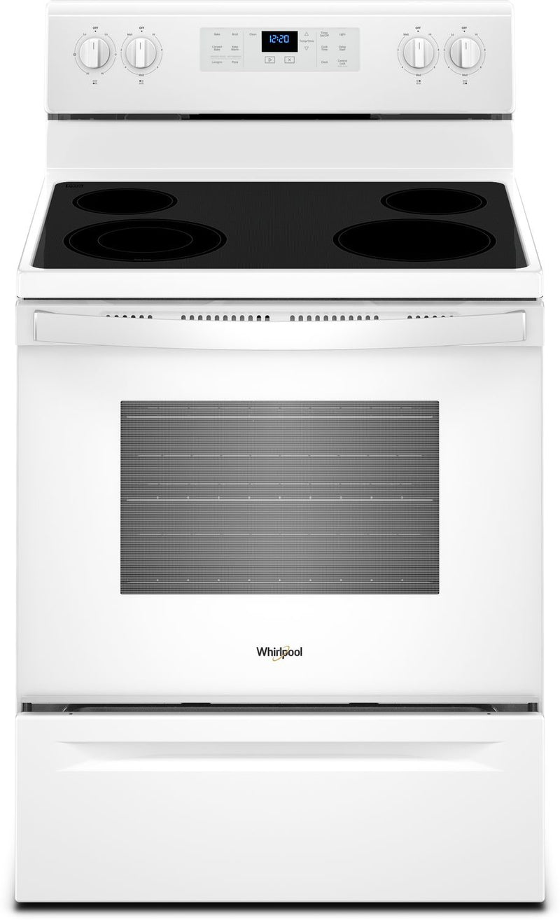 Whirlpool 5.3 Cu. Ft. Self-Cleaning Electric Range – YWFE521S0HW - Electric Range in White