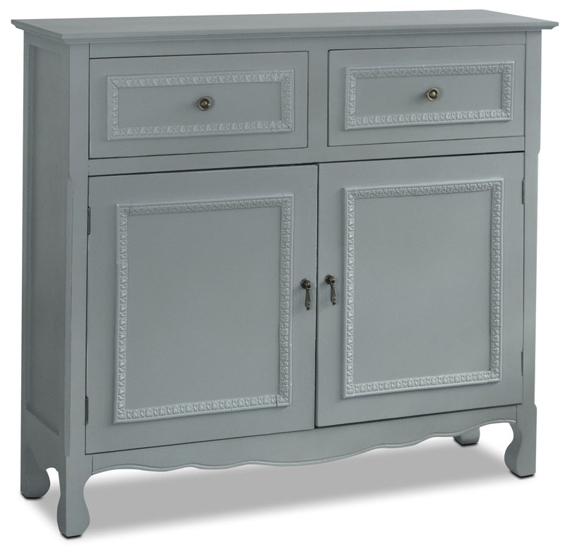 Marbella Accent Cabinet – Grey|Armoire décorative Marbella - grise|MARGRACC