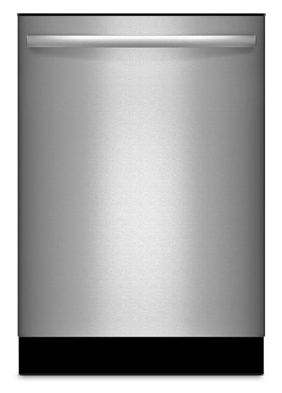 "Bosch Ascenta® 24"" Bar Handle Tall Tub Dishwasher – Stainless Steel - Dishwasher in Stainless Steel"