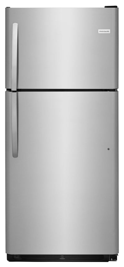 Frigidaire 20.4 Cu. Ft. Top-Freezer Refrigerator – FFTR2021TS - Refrigerator in Stainless Steel