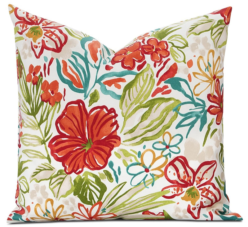 Houston Floral Outdoor Accent Pillow|Coussin décoratif Houston floral pour l'extérieur