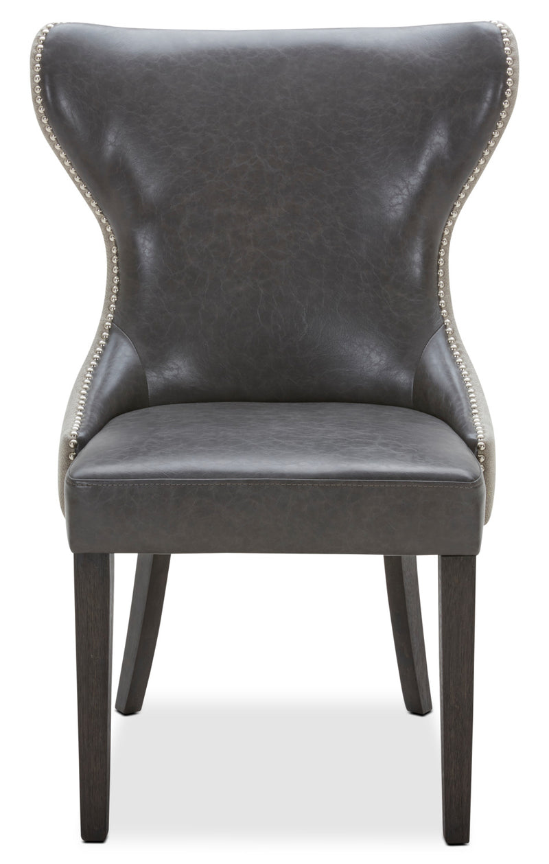 Shea Dining Chair Set Of 2 Grey The Brick