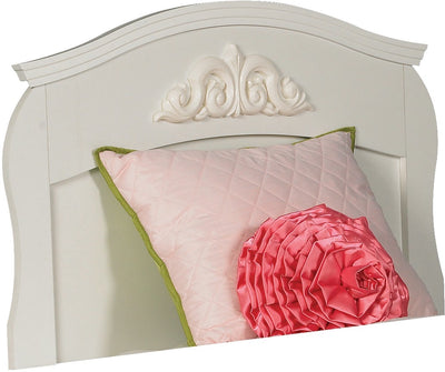 Diamond Dreams Twin Panel Headboard – White|Tête de lit à panneaux Diamond Dreams pour lit simple – blanc|422-671