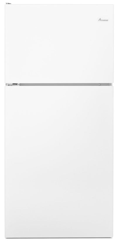 Amana 18 Cu. Ft. Top-Freezer Refrigerator – ART318FFDW - Refrigerator in White