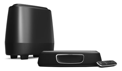Polk Audio MagniFi Mini™ Soundbar and Wireless Subwoofer – 150 W|Barre de son et caisson d'extrêmes graves sans fil MagniFi Mini de Polk Audio – 150 W|MAGNMINI
