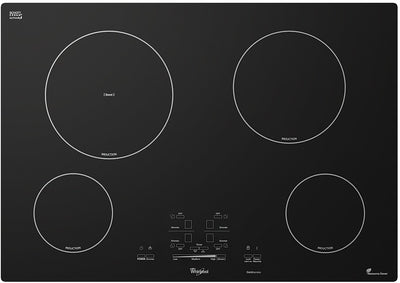 Whirlpool Gold 30-inch Electric Induction Cooktop|Surface de cuisson électrique à induction Whirlpool GoldMD de 30 po - noire|GCI3061XB