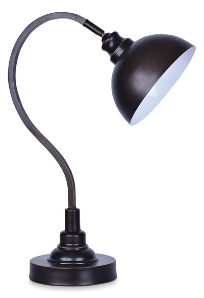 Oil-Rubbed Bronze Task Table Lamp|Lampe de table pour le bureau bronze huilé|SD90082A