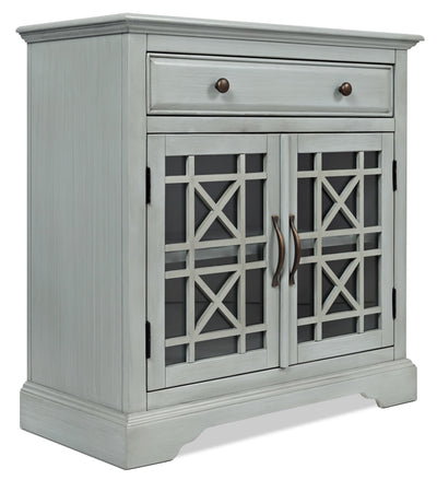 Marseille Accent Cabinet – Grey - Country style Accent Cabinet in Grey Acacia Solids and Veneers