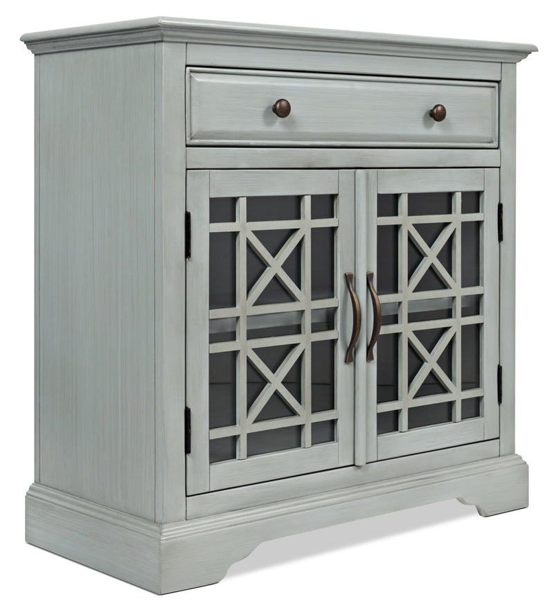 Marseille Accent Cabinet – Grey|Armoire décorative Marbella - grise|MARGYACC