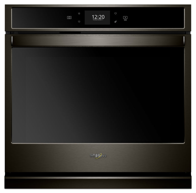 Whirlpool 5.0 Cu. Ft. Smart Single Wall Oven with True Convection Cooking - WOS72EC0HV|Four mural simple intelligent Whirlpool, convection véritable, 5 pi3 - WOS72EC0HV