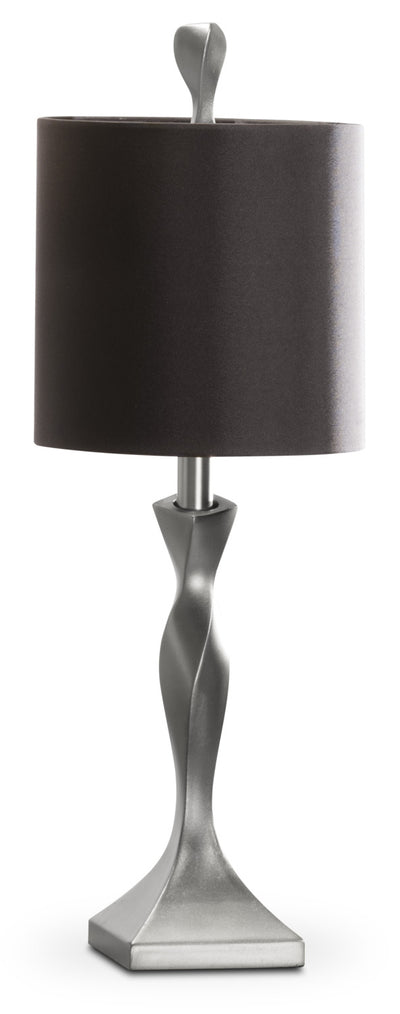 Painted Champagne Silver Table Lamp|Lampe de table peinte champagne argenté|PT9014LP