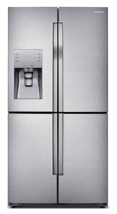 Samsung 22.5 Cu. Ft. French-Door Refrigerator – RF23J9011SR - Refrigerator with Exterior Water/Ice Dispenser in Stainless Steel