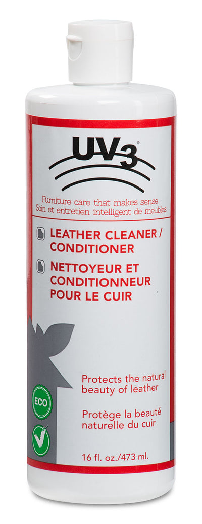 UV3 Leather Cleaner and Conditioner|Nettoyant et conditionneur UV3 pour le cuir|LEATHER