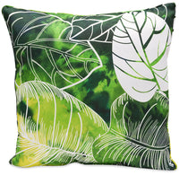 Green Palm Accent Pillow