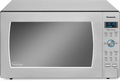 Panasonic Genius® 2.2 Cu. Ft. Countertop Microwave – NN-SD986S - Countertop Microwave with Child Lock in Stainless Steel