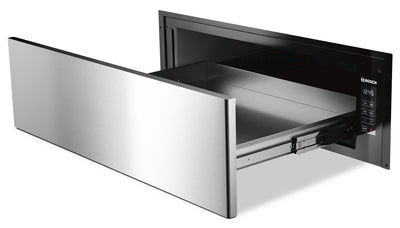 Bosch 500 Series 2.2 Cu. Ft. Warming Drawer – HWD5051UC - Electric Warming Drawer in Stainless Steel