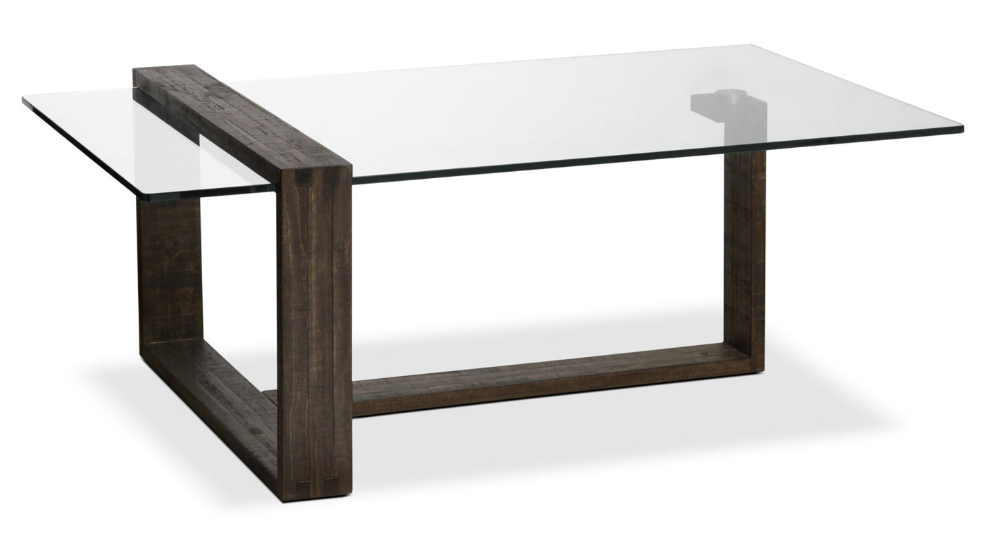 calistoga modern coffee table the brick rh thebrick com coffee tables modern living room coffee tables modern rustic