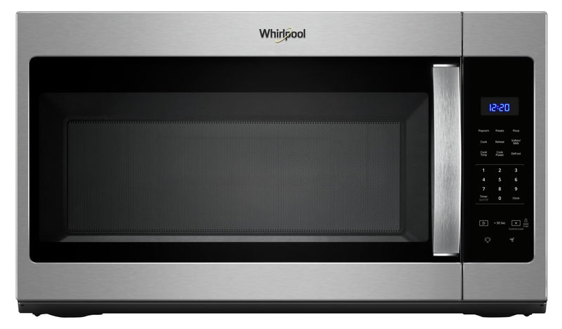 Whirlpool 1.7 Cu. Ft. Microwave Hood Combination with Electronic Touch Controls – YWMH31017HZ - Over-the-Range Microwave in Fingerprint-Resistant Stainless Steel