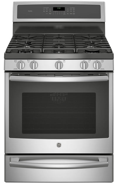 GE 5.6 Cu. Ft. Freestanding Dual-Fuel Range – PC2B940SEJSS - Dual Fuel Range in Stainless Steel