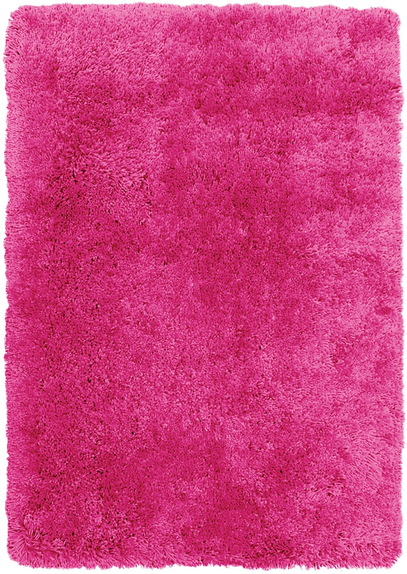 Pink Fashion Shag Area Rug – 4' x 5'|Carpette à poil long tendance de 4 pi x 5 pi - rose