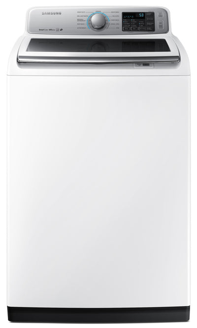 Samsung 5.8 Cu. Ft. Top-Load Washer – WA50N7350AW/A4 - Washer in White