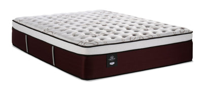 Sealy Posturepedic Crown Jewel Prince of Wales Eurotop Queen Mattress|Matelas à Euro-plateau Prince of Wales PosturepedicMD Crown Jewel Sealy pour grand lit|PRINCEQM
