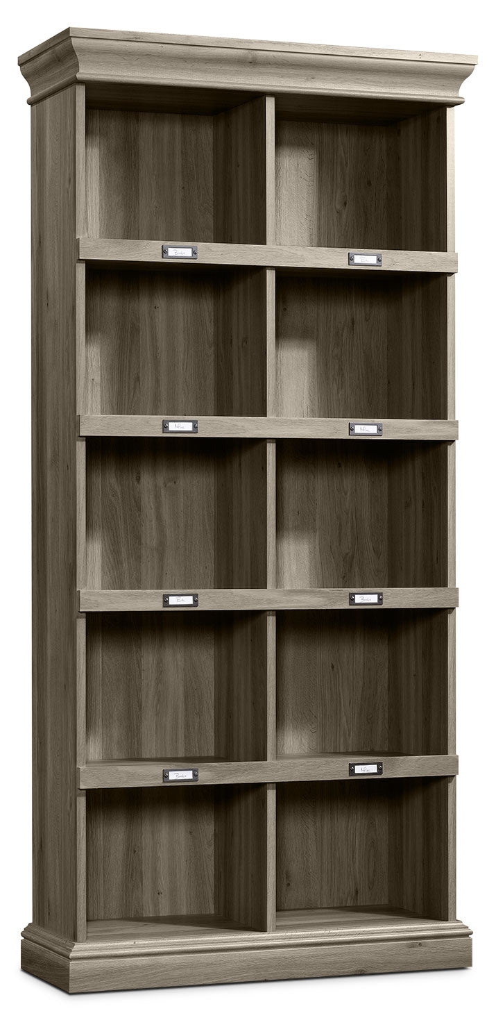 Barrister Lane Tall Bookcase – Salt Oak|Bibliothèque haute Barrister Lane - chêne salé