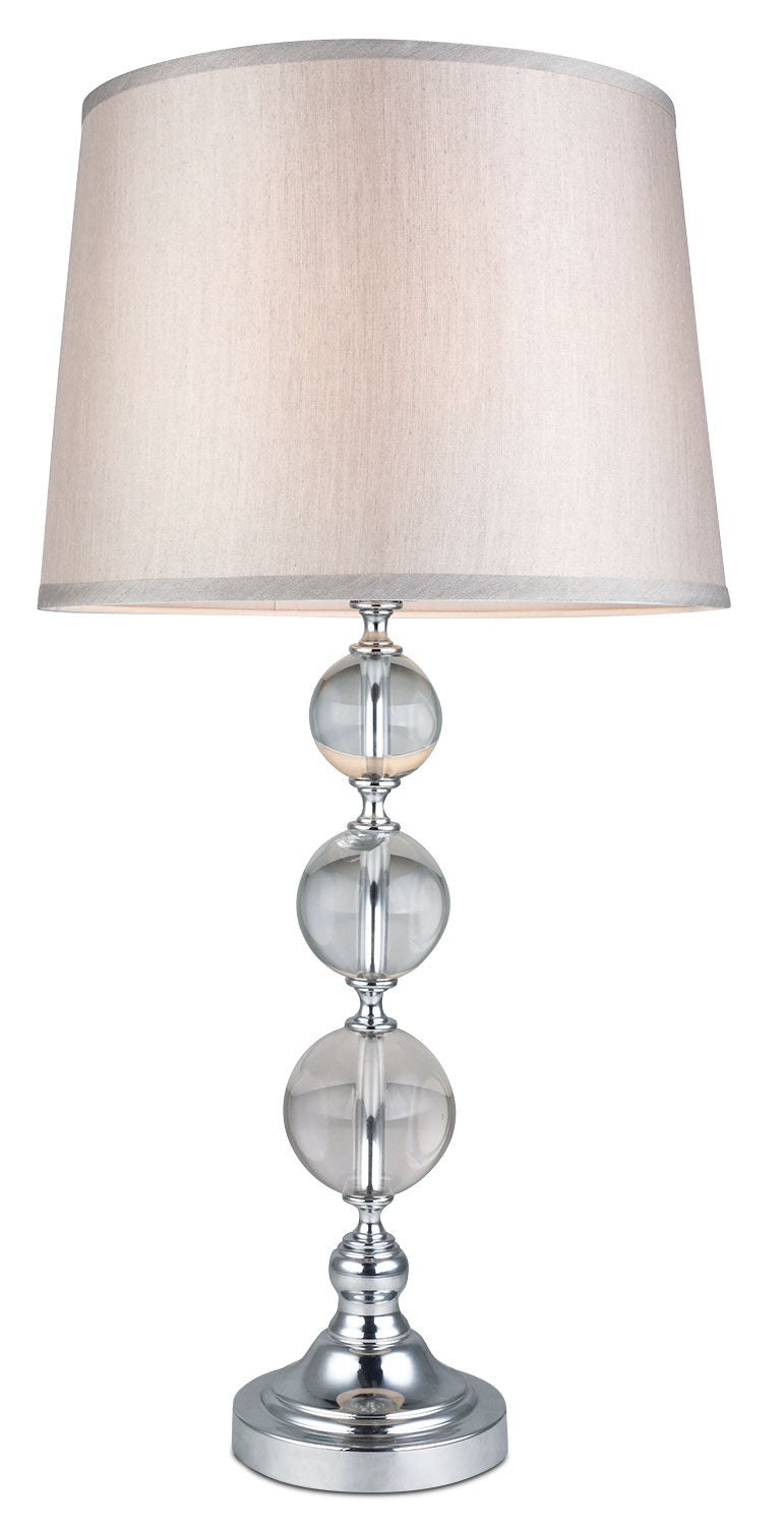 Glass Balls Table Lamp|Lampe de table avec sphères en verre