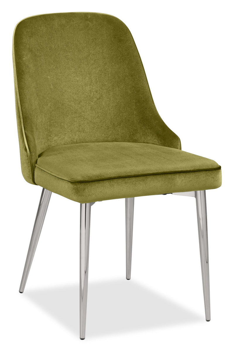Manhattan Dining Chair – Green|Chaise de salle à manger Manhattan - verte