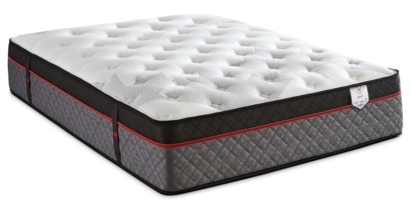 Springwall True North Chiropractic® Banff Euro-Top Queen Mattress|Matelas à Euro-plateau True North Banff Chiropractic de Springwall pour grand lit