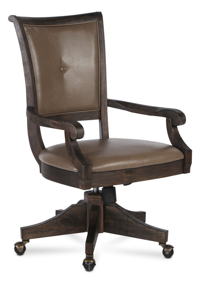 Calistoga Office Chair - Contemporary style Office Chair in Grey Wood
