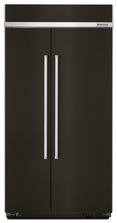 KitchenAid 25.5 Cu. Ft. Built-In Side-by-Side Refrigerator - KBSN602EBS|Réfrigérateur encastré KitchenAid de 25,5 pi³ à compartiments juxtaposés - KBSN602EBS|KBSN602B
