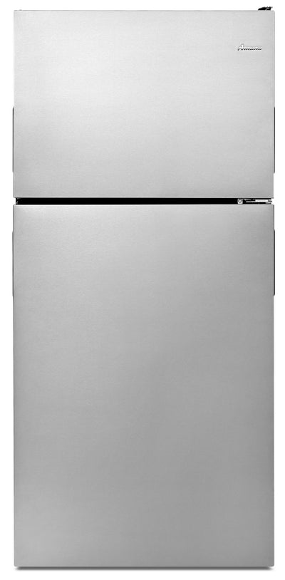 Amana 18 Cu. Ft. Top-Freezer Refrigerator – ART318FFDS - Refrigerator in Stainless Steel