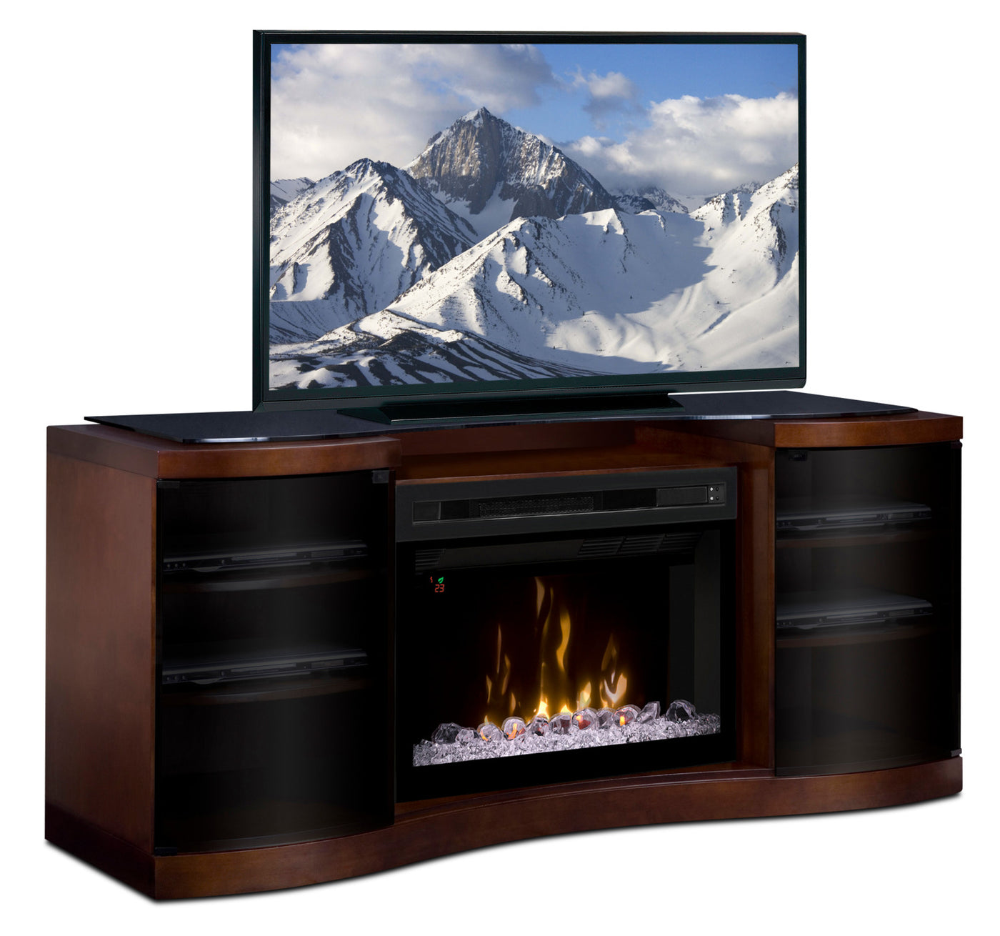 Grandview 73 Tv Stand With Glass Ember Firebox The Brick Old Fuse Boxes Range Previous Next