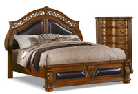 Morocco 4-Piece Queen Bed and Chest Package